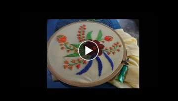 Hand Embroidery Rumanian - Buttonhole Stitch by Amma Arts