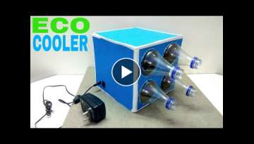 How to Make a Eco Cooler at home (Simple Air Cooler )