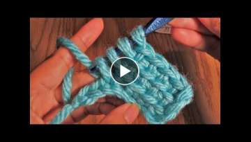 Crochet 3 Rows Of Single Crochet At The Same Time | Linked Treble