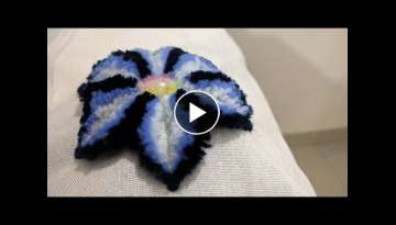 Easy Diy Flowers Ideas | Hand Embroidery Designs | DIY Stitching - 08