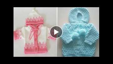 Very Beautiful Knitting Baby Sweater New Designs