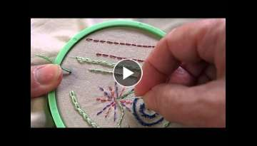 Learn Hand Embroidery with Me: Needle Threading and Away Knot