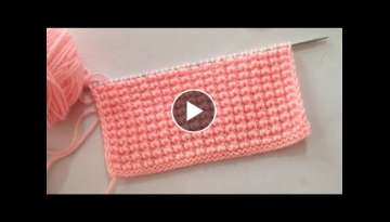 2 Rows Knitting Stitch Patttern