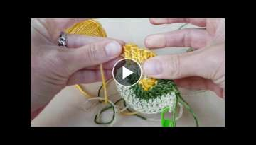 Freeform Crochet Tutorial for Echtstudio at KreaDoe 2017