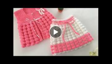 Crochet Baby Skirt / Balloon Model Skirt / Easy and Beautiful Knitted Skirt