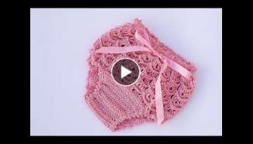 How to make a girl crochet panties