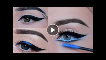 Best Eyeliner Styles || Most Beautiful Eyeliner Style Inspiration || Eyeliner Tips and Tricks