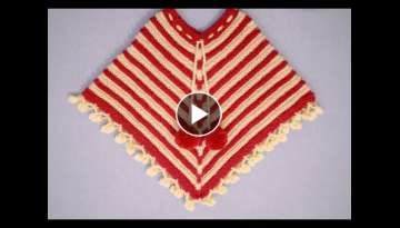 How To Make STYLISH PONCHO