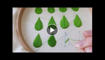 How to do Satin Stitch. The basics and some variations.