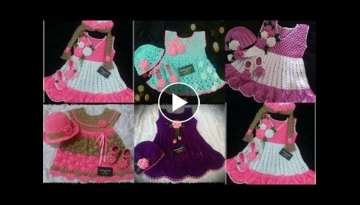 Beautiful hand made crochet baby Dresses