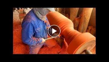 Woodworking Magic Amazing - Most Dangerous Fastest Wood Cutting Sculpture, Dust jobs