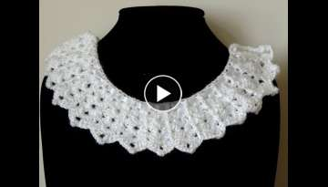 Crochet : Borde Cuello