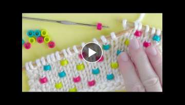 How to Knit Beads | Knitting Technique