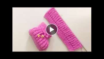 Very Easy Knitting Baby Booties , Shoes , Boots, Socks ,Slippers