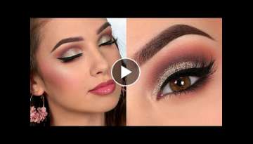 Wedding Guest GLAM Makeup Tutorial Using Favourite US Brands
