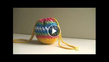 Brick Stitch Bag Crochet Tutorial