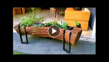 99 WOOD and Log Ideas 2017 | Creative DIY ideas from wood