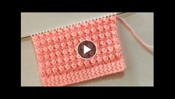 New Knitting Stitch Pattern