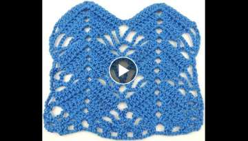 Crochet: Punto Flecha # 2 - YouTube