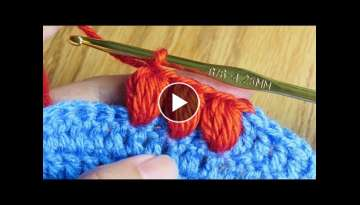 Puff Stitch - Basic Crochet Stitch