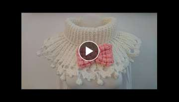 Siem's Auntie Louise Cowl - Crochet - Tutorial - English