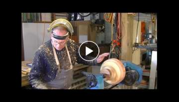 168 Wood turning off cuts into a $100 bowl - YouTube