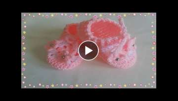 Crochet for kids / shoes / kids shoes in a new fashion is very easy - crochet baby shoes