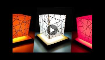 How to make Night Lamp