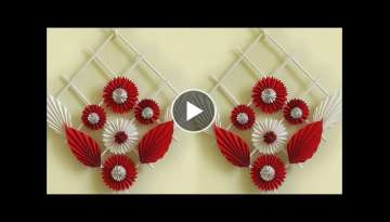Genius Craft Idea out of Paper || DIY Room Decor 2018 | Handmade Craft | Wall Hanging Making at H...