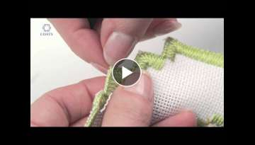 Learn How To Cut a Buttonhole Edge on Evenweave