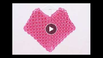 Crochet girl poncho very easy