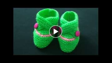 Knitting Beautifull BABY BOOTI (6-M to 1-Y) Design-276