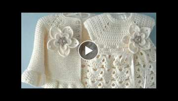 Crochet frock designs for baby girls